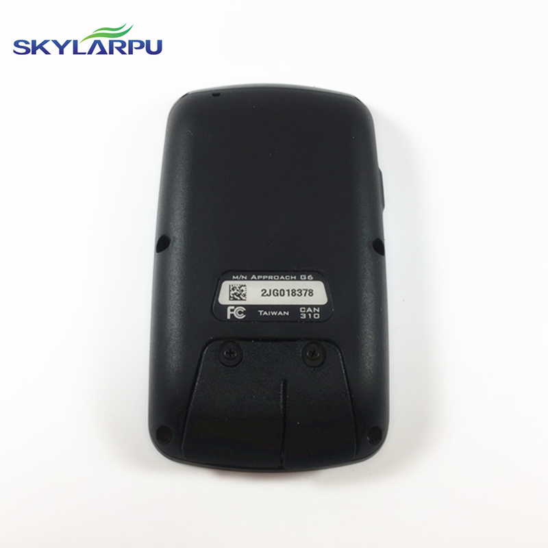 skylarpu Rear cover for GARMIN APPROACH G6 bicycle speed meter back cover Repair replacement Free shipping free shipping 95%new camera back cover for sony nex 5r nex5r rear cover with door replacement repair part black