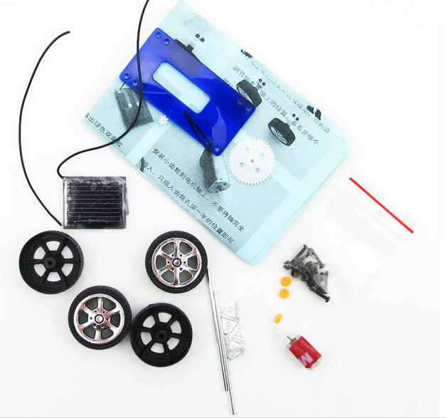 physical science experiments diy solar car model kids science toy educational equipment diy car model in teaching resources from office school supplies
