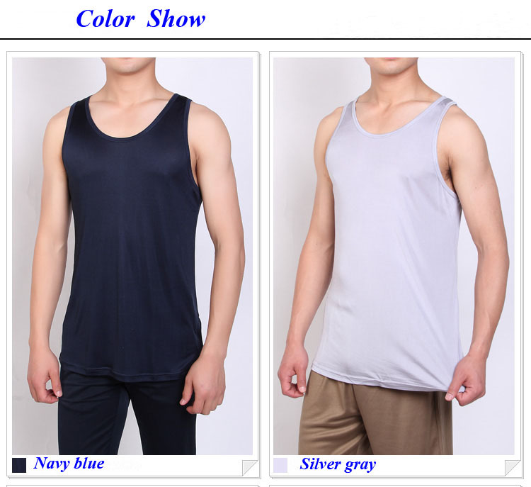 d71f033bbe6df Natural silk knitted male tops