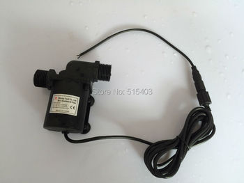 2pcs/ Lot 12V DC Water Pump 800/800A-D 600LPH 5M, for Small Garden Fountain, Music Fountain, Other Water Cycle SYS, Submersible