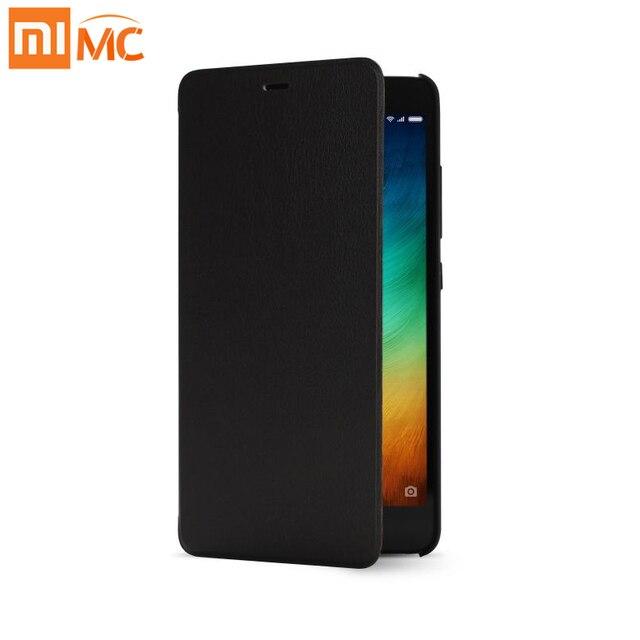Original xiaomi redmi note 3 pro flip case for redmi note 3 prime smartphone ultra thin leather cover PU Leather Protector Case