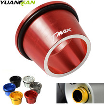 6 color Motorcycle accessories CNC Aluminum Exhaust Tip Cover For Yamaha T-max 530 T MAX TMAX 2012-2016 tmax 500 tmax500