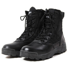 Nueva América Deporte hombres Del Ejército Botas Tácticas Desierto Botas de Montaña Al Aire Libre Entusiastas Militares Marina Masculina Zapatos de Combate