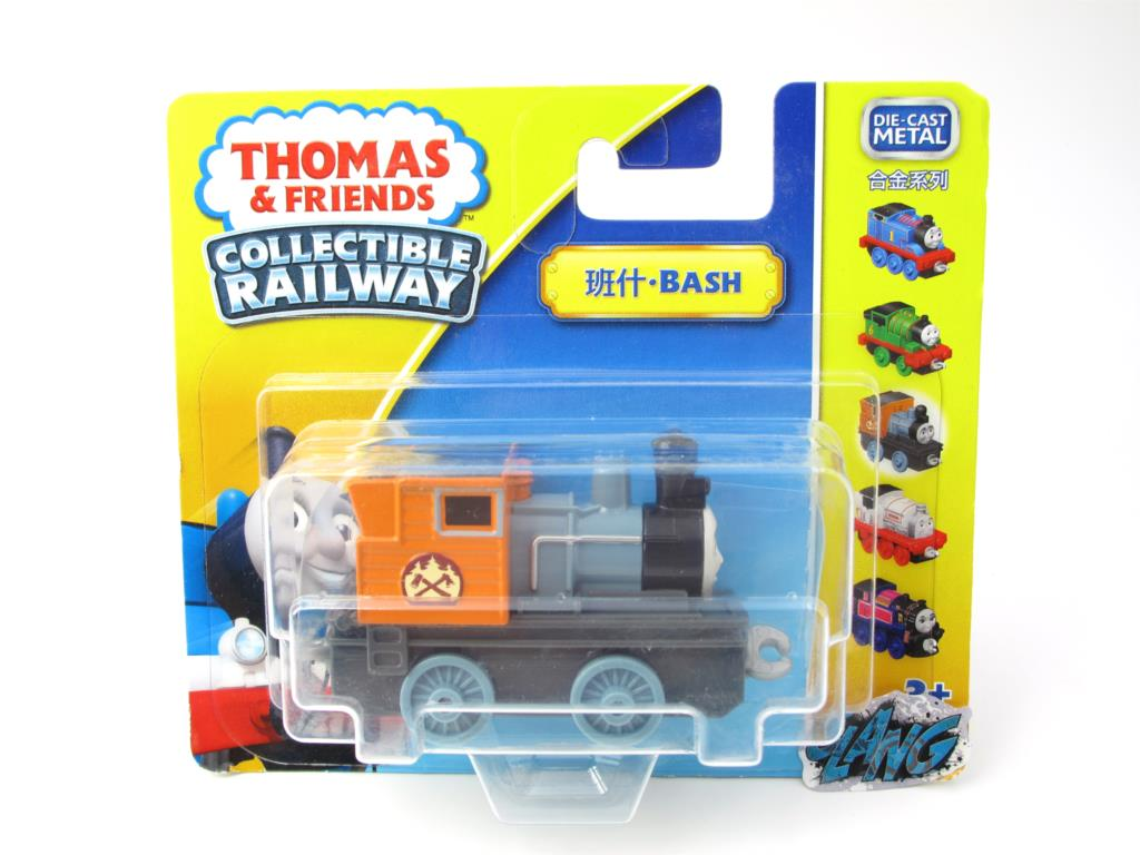 1:64 Diecasts Vehicles Thomas T007N BASH Thomas And Friends Magnetic Tomas Truck Engine Railway Train Toys for Boys NIB