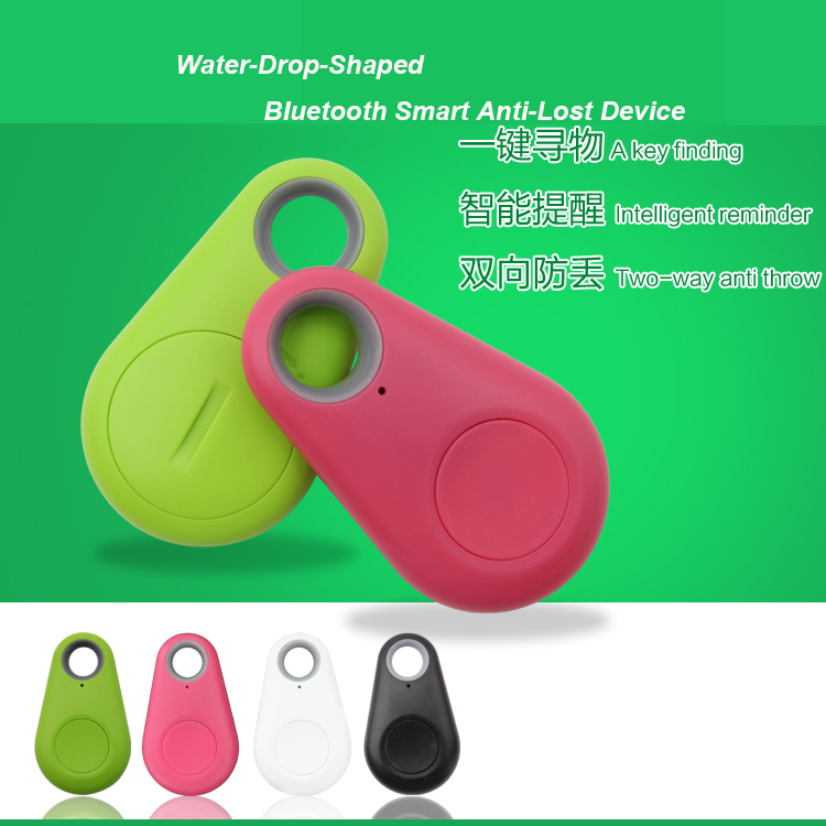 Newest drop-shaped mini light cute Smart Finder GPS Anti-lost for iOS for Androi