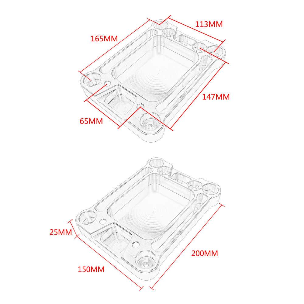 vr billet shifter base plate for civic integra rsx k20 k24 k series [ 1000 x 1000 Pixel ]
