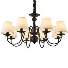 Candelabros Vintage de estilo americano para bodas, candelabros de hierro para Bar, cafetería, iluminación led blanca, negra, azul, candelabros, candelabro Vintage chand
