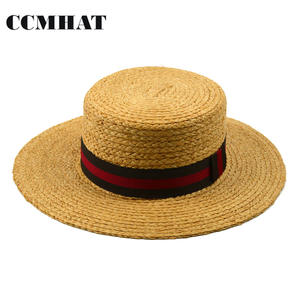 43475d77 CCMHAT Straw Hats For Boater Summer Sun Hat Panama Caps