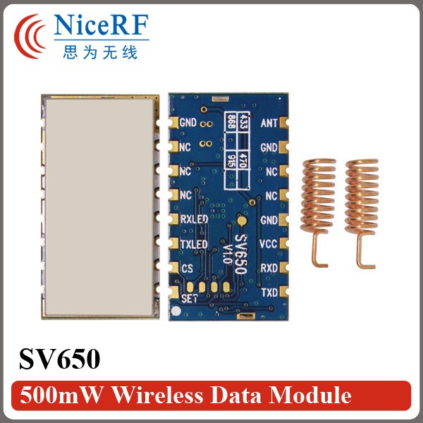 SV650-500mW wireless data module kit-5