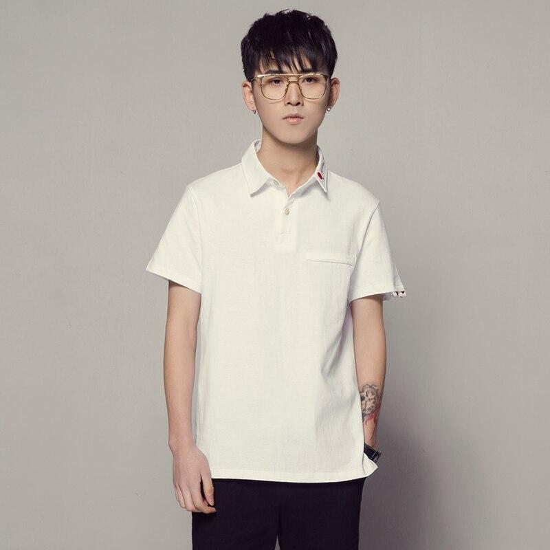 2018 Poloshirt Männer Sommer Neue Polo Homme Polos Männer Ursprünglichen Trend 5xl Plus Größe Polo Hemd Weiße Kleidung