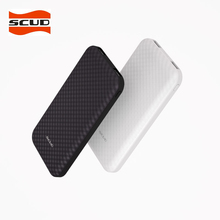 SCUD 10000mAh External Battery Charger Portable Powerbank 10000Slim Poverbank Pack for Xiaomi Mi iphone