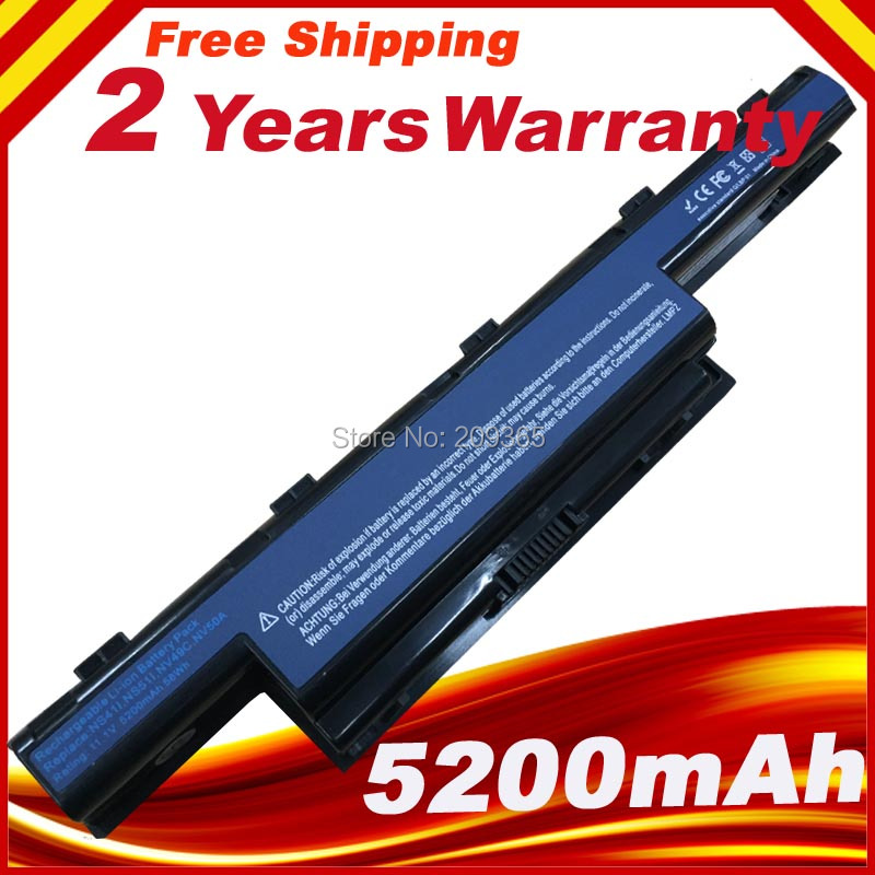 Laptop Battery For Acer Aspire 4741G 4741Z 4743 4743G 4749 4750 4752 4755 4771 5333 5336 5349 5350 5551 5560 (15.4 Screen)