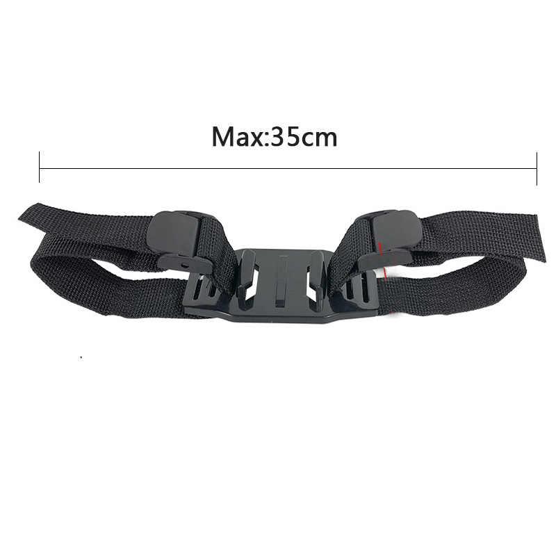 Регулируемый велосипед, шлем, ремень пояс голову монтажный зажим Адаптер для GoPro Hero 7/6/5/4/3 + Session SJCAM Xiaomi Yi eken H9Accessories