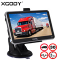XGODY 5 Inch Car Truck GPS Navigation 128M+8GB MTK FM SAT NAV Navigator Bluetooth 2016 Europe North/South American Russia Maps