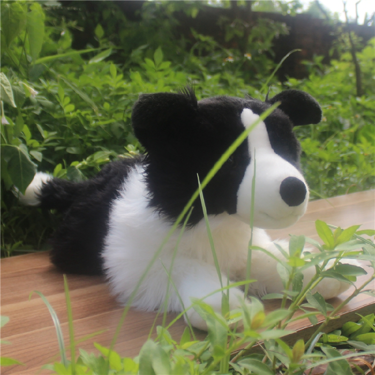 все цены на Big Toy Plush Border Sheepdog Doll Pillow Toys Children Gifts Simulation Dogs Large Dolls