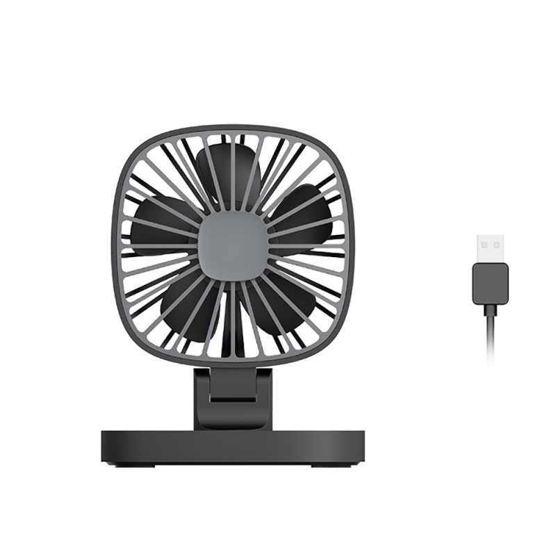 12V Mini USB Small Car Fan 360 Degree Rotation ABS USB Powered Cooling Air Fans Conditioner car accessories