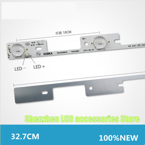 Image 5 - 50 חתיכות עבור Konka 39 סנטימטרים טלוויזיה KDL39SS662U 35018339 Konka 40 סנטימטרים KDL40SS662U 35019864 327mm 6V