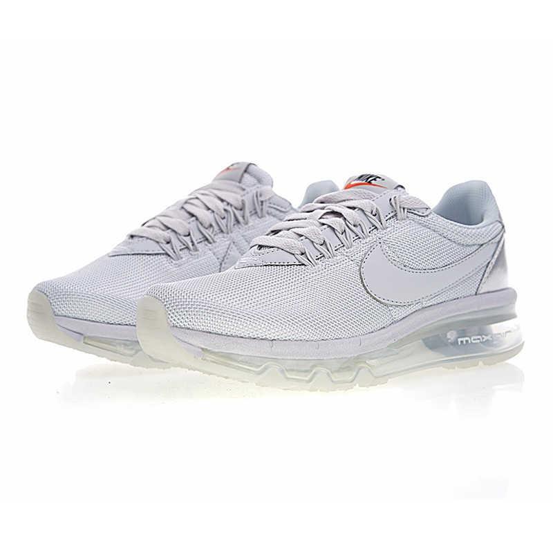 LD-Zero de Nike Air Max Tênis de Corrida das Mulheres, Originais Esportes Sapatos Tênis Ao Ar Livre, Branco, respirável Wear-resistant 911180-002