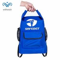 45L Rose/Blau Wasserdichte Reise Dry Bag Rucksack Langlebige Roll Top Handtasche Große Kapazität Rafting Tasche für Kajak/bootfahren