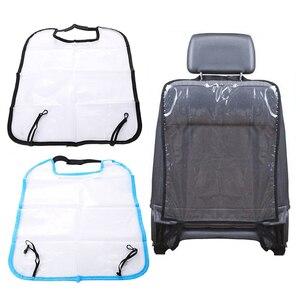 Защитный чехол на заднее сиденье VODOOL для детей, Детский коврик от грязи, чехлы для автомобильных сидений, коврик для ног