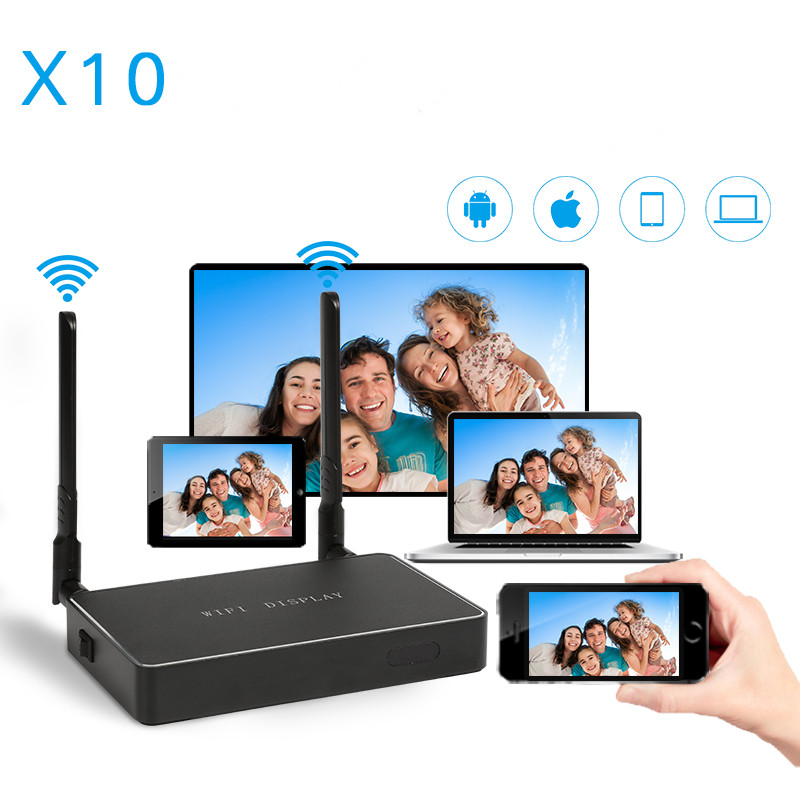 HDMI VGA TV Stick anycast Miracast DLNA Airplay WiFi affichage récepteur Dongle miroir boîte Support USB lecteur Windows Andriod TVS10