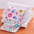 1 pc Natural Organic Cotton Cloth Fabric More Big Kindergarten Children Mat Towels Absorb Sweat Towels Every Sweat Towels