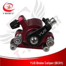 Sale High Quality  Scooter Brakes Caliper YUS Brand Aluminium Brake Caliper with Round Brake Pads(Scooter Parts & Accessories)