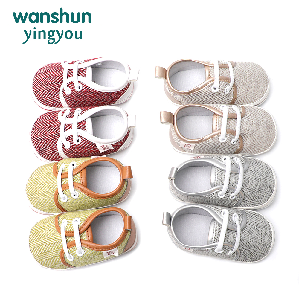 2018 New arrivals hot sales baby moccasins boy girls shoes baby first walker shoes cute soft comfortable footwear infant walker