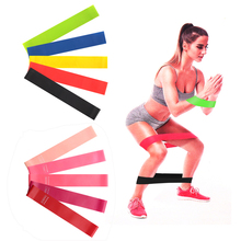 Customized Elastic Fitness Bands Crossfit Sport Yoga Fitness Gum Rubber Expander Pilates Resistance Bands Gym Training Equipment