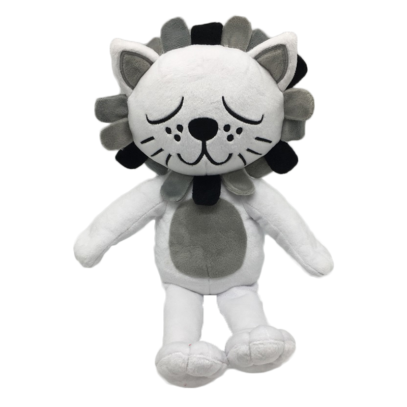 2018 New Kawaii Lion &Cat Plush Toys Stuffed Animals Fluffy Cat Dolls Soft Plush Kids Toys for Childrens Day Gifts Christmas