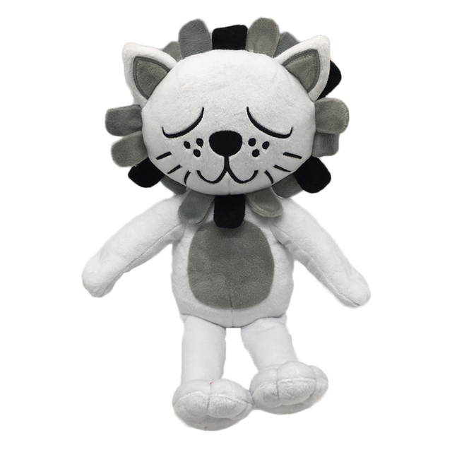 2018 New Kawaii Lion Cat Plush Toys Stuffed Animals Fluffy Cat