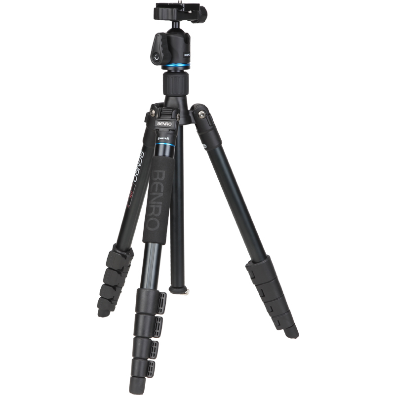 BENRO IT15 Tripod Portable Aluminium Tripods Reflexed Removerble Traveling Monopod Carrying Bag Max Loading 4kg dhl gopro benro a1682tb1 travel angel tripod detachable reflexed monopod aluminum tripod alpenstock 3 in 1 wholesale