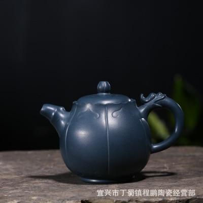 2018 nouveau 330 ml Yixing zisha thé pot artisanat maîtres à la main théière Ruyi long thé ensembles céleste théières en argile