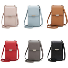 New Arrival Women Shoulder Crossbody Bag Multifunction PU Large Capacity for Mobile Phone Cards