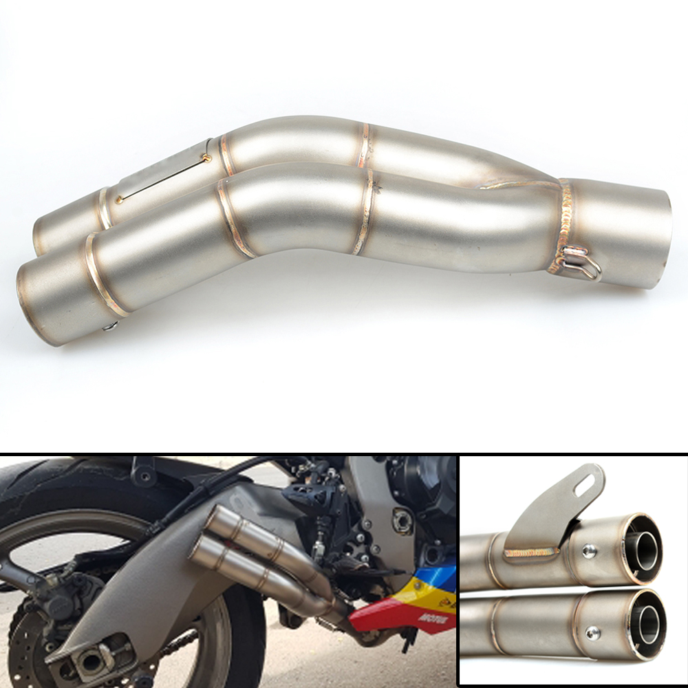 Universal 36-51MM Motorcycle Motorcross Scooter Exhaust Pipe For Yamaha FZ1 FAZER FZ6R FZ8 XJ6 FZ6 MT-07 09 FZ-09 XSR700 XSR900 цены