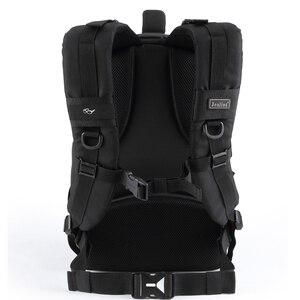 Image 5 - Jealiot сумка для фотоаппарата фоторюкзак рюкзак для фотоаппарата фотосумка чехол сумка для камеры Dslr водонепроницаемый рюкзак для ноутбука цифровой роликовый слинг с чехлом перегородка для Canon Panasonic Nikon Sony