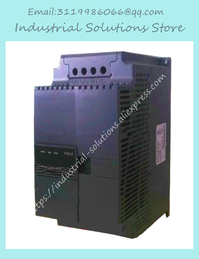 все цены на Input 3ph 380V Output 3ph Inverter E-series VFD022E43A 0~480V 5.5A 0.1~600Hz VFD-E 2.2kW 3HP New Original онлайн