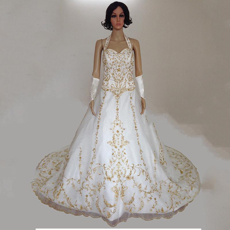 New gold long elegant dresses custom satin sleeveless