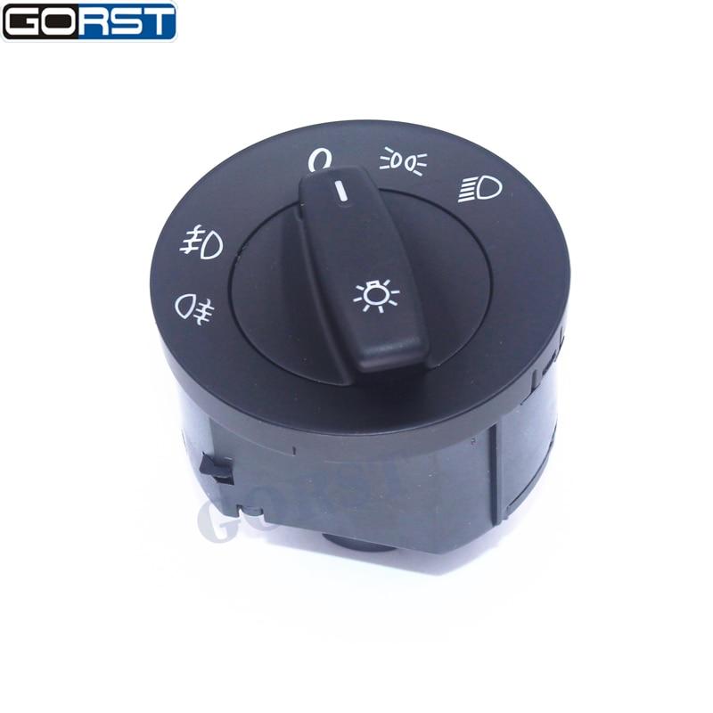 GORST Headling Light Fog Lamp Switch for VW Golf MK5 Caddy JETTA TOURAN SAGITAR BORA 1K0 941 431Q 1K0941431Q ...