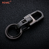 High End Car Metal Keychain Auto Men Keyring Bussiness Gift For Dacia Ford MINI Cooper Yamaha