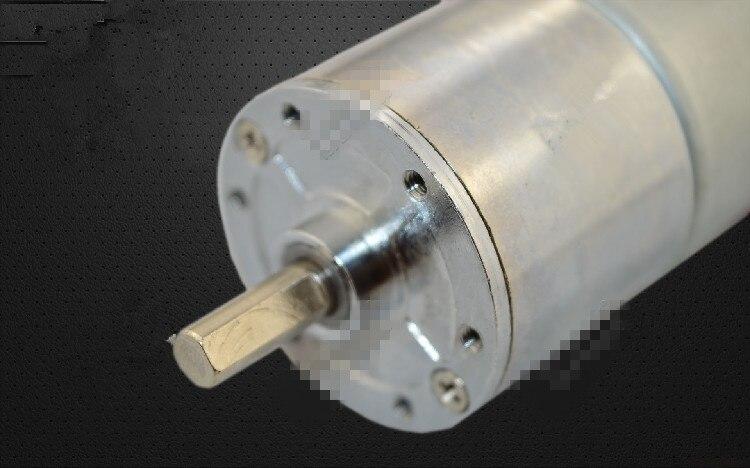 ZGA37RE 37mm Miniature DC Gear Motor Adjustable Speed Motor Reversing 12V 24V 2RPM-400RPM