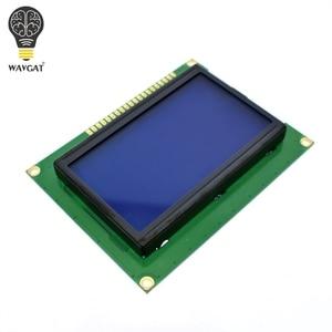 Image 2 - WAVGAT 12864 128x64 נקודות גרפיים כחולה צבע תאורה אחורית LCD תצוגת מודול עבור arduino פטל pi