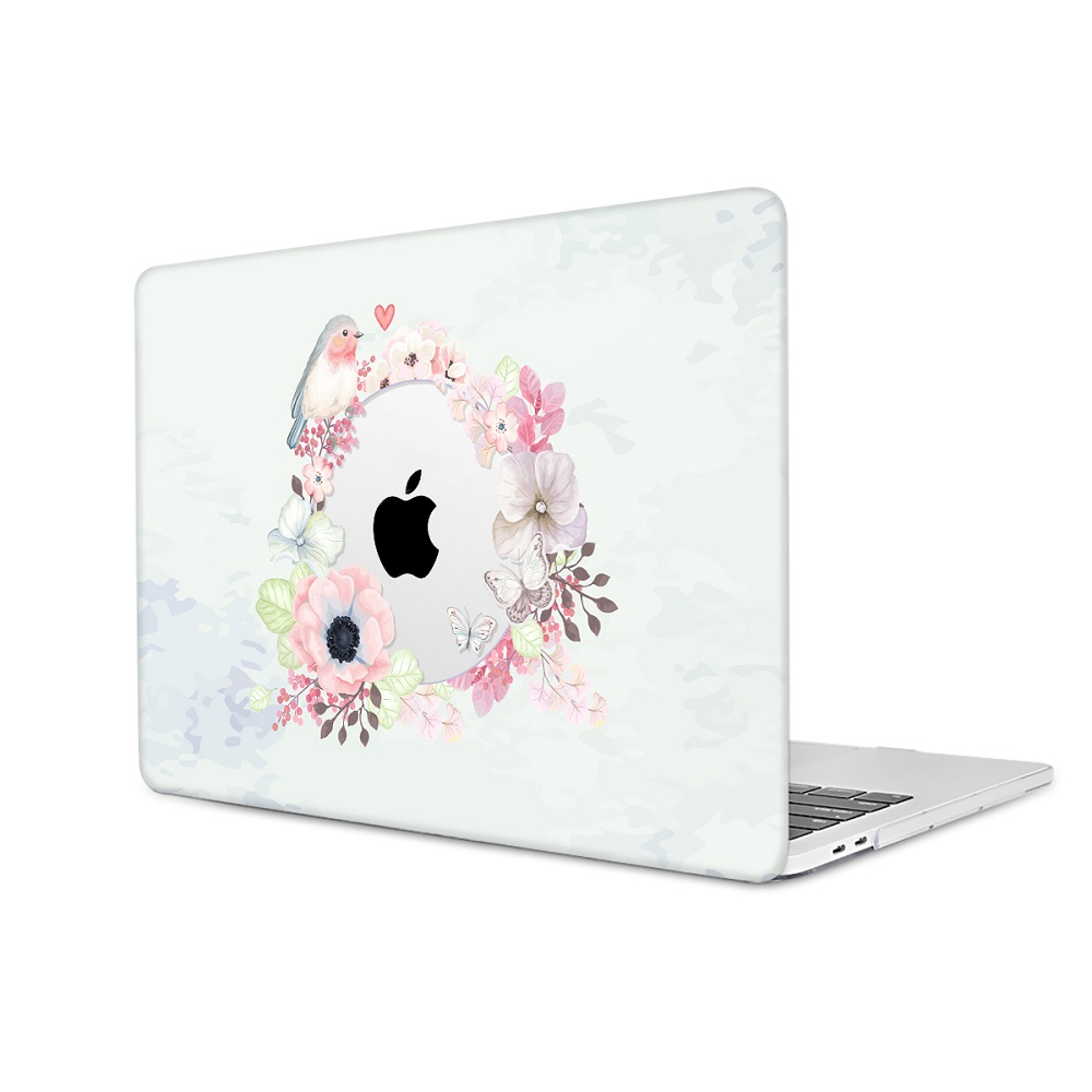 Floral Printing Hard Case for MacBook 117