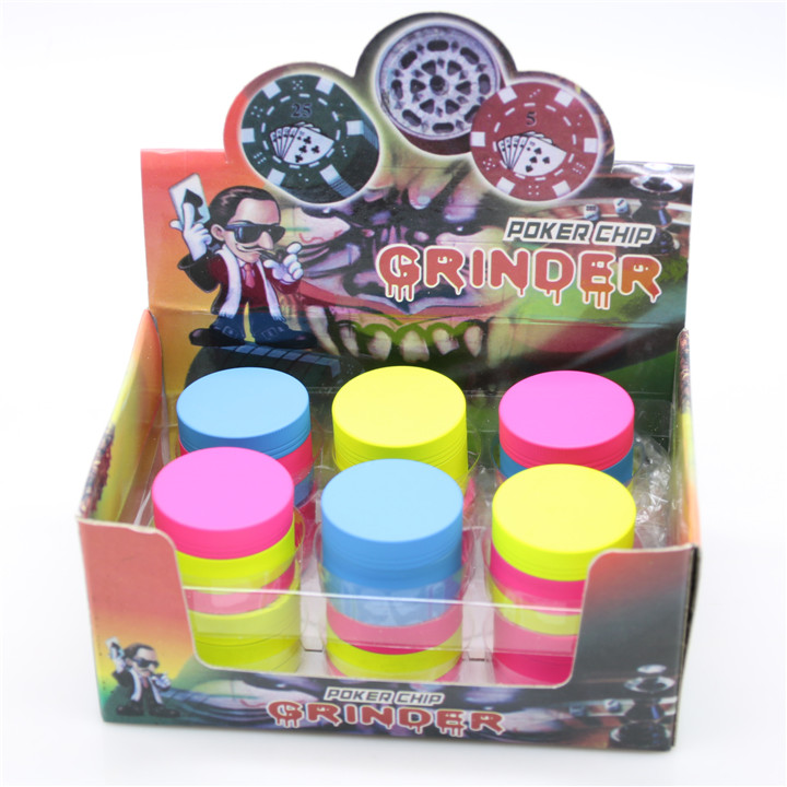 US $32 2 30% OFF|12pcs/lot New Rubber Paint Candy Colored Smoking Grinder  40mm Mini Crusher Wholesale Spice Herbal Pipe Tobacco Herb Grinders-in