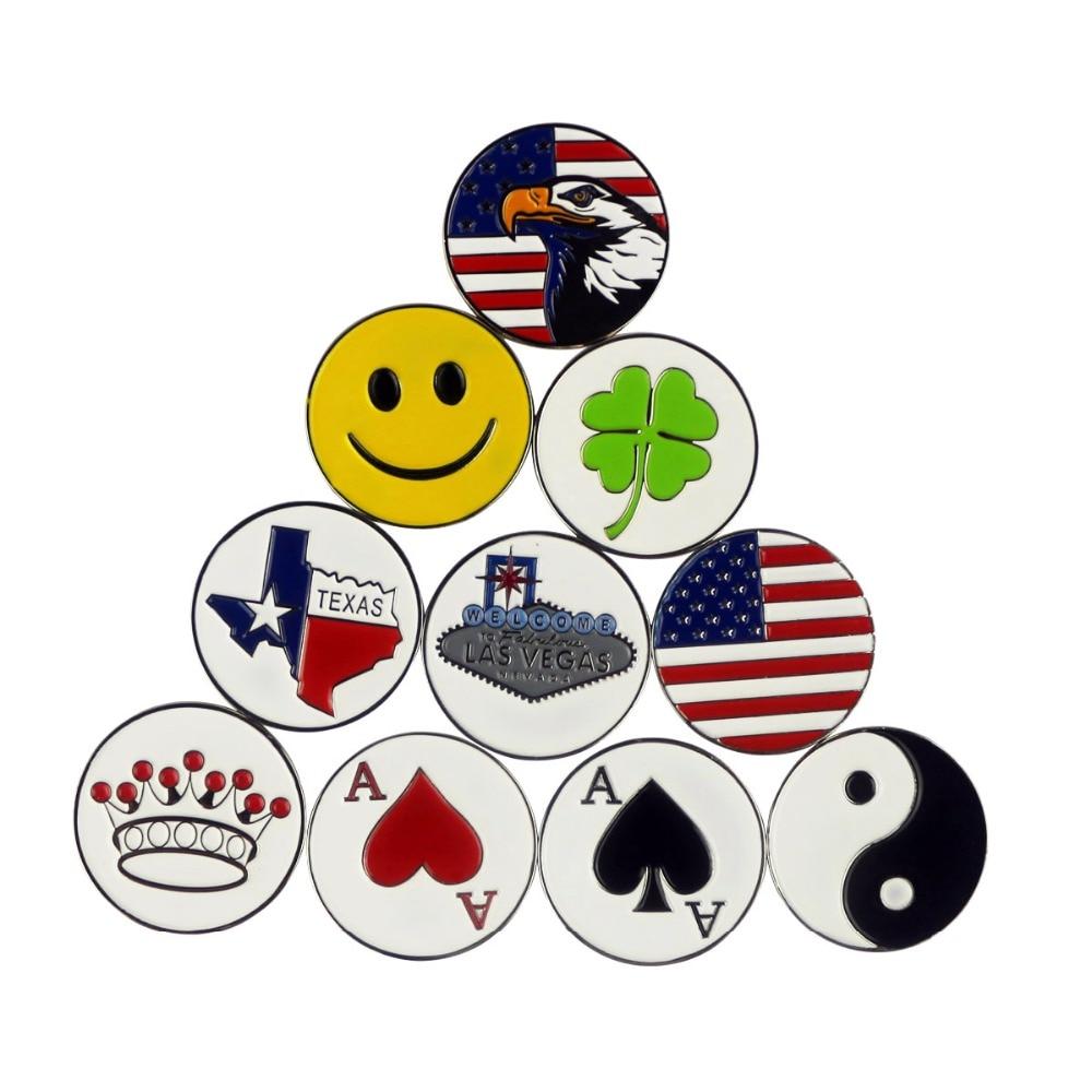 PINMEI Golfball-Markierungen Magnetische - Golf - Foto 4