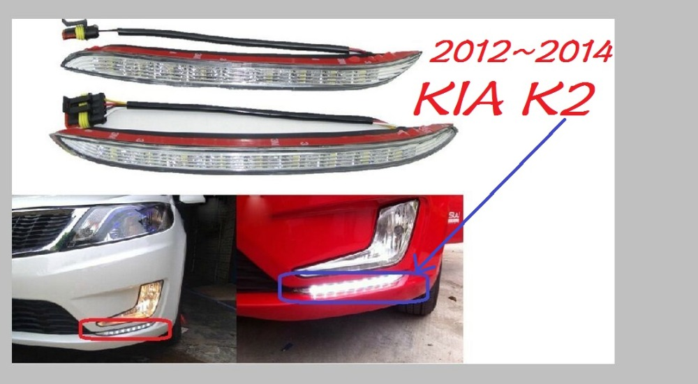 2011 2012 2013 KIA K2 day light,rio,Free ship!LED,KIA k2 fog light,kia ceed, k3;cerato,Amanti,Magentis,Spectra,Soul EV,Rondo,K 2 free ship td025 49173 02622 49173 02610 28231 27500 turbo for hyundai accent matrix getz for kia cerato rio crdi 2001 d3ea 1 5l