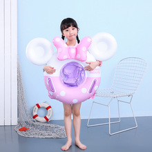 Children's Inflatable Circle Baby Float Kids Swimming Ring With Seat Beach Inflatable Summer Water Play Pool Toys Swim Ring inflatable rainbow swim ring kids swimming float for summer water sports