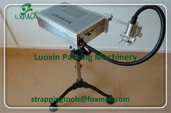 LX-PACK Lowest Factory Price Steel Pipe Inkjet Printer Batch Code Printing Machine Hand Held Batch Coding Machine Gun Printer hand jet printer price