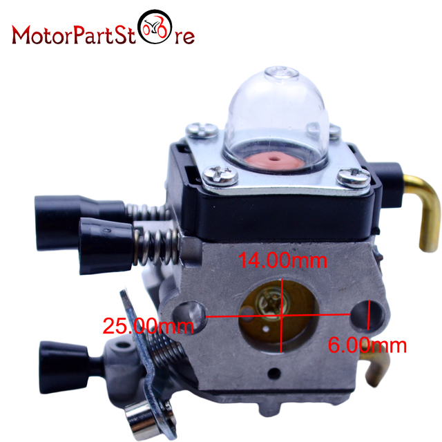 Replacement Spare Parts For Trimmer Weed Eater Zama Carb Carburetor Stihl Fs55 Fs55rc Fs38 Fs45