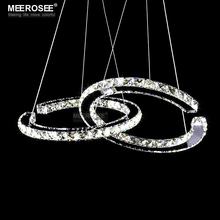 Modern LED Diamond Pendant Light Fixture LED Crystal Lighting Lustres Hanging Drop abajur Lamp For Dining Room luces led decoracion led chandelier crystal lighting modern crystal light fixture circle hanging lustres led luminaire home lamp